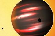 Астрономы бьются над разгадкой тайны черной планеты