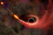 Обнаружена сверхмассивная черная дыра