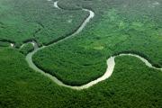 Подземная река на глубине 4 километров