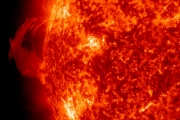 Открыто разрушение Луны солнечными бурями