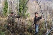 Кузбасский йети, найдя рюкзак с тушенкой, не смог ее открыть