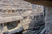 Пещеры Эллора: Храмы в скалах