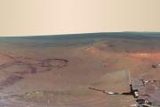 НАСА обнародовало панорамный видна Марс, полученный камерой ровера «Оппортьюнити».