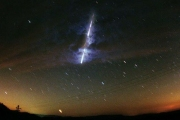 Как падают метеориты