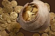 В Израиле обнаружен крупный клад средневековых монет