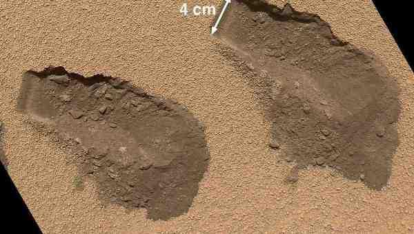 Curiosity нашел таки на марсе органику