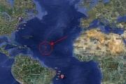 Аномальная зона в Атлантическом океане