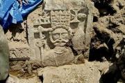 В Мекке обнаружена чеканка каменной кладки с христианской фигурой