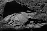 Рассвет над кратером Тихо