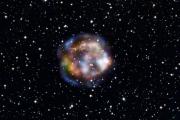 Последствия взрыва массивной звезды