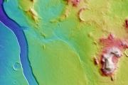 На Марсе обнаружили следы древней гидросистемы