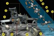 НАСА разрабатывает шестиногий транспортёр для лунной базы