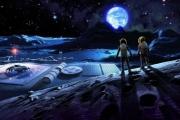 Космические базы на поверхности Луны будут снабжаться водой с помощью комет