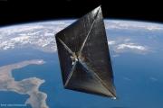 В 2014 году НАСА запустит самый большой солнечный парус